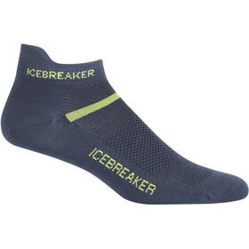 Icebreaker Multisport Ultralight Micro Sokken Heren, oil/citron